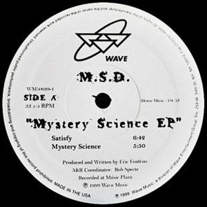 MSD presents - Mystery Science EP