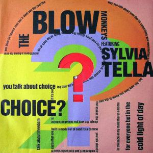 THE BLOW MONKEYS feat SYLVIA TELLA - Choice?