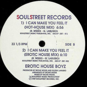 EROTIC HOUSE BOYZ – I Can Make You Feel It