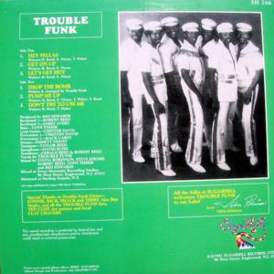 TROUBLE FUNK – Drop The Bomb