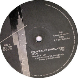 FRANKIE GOES TO HOLLYWOOD / STING - Relax/An Englishman In New York