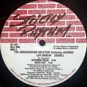 THE UNDERGROUND SOLUTION feat JASMINE – Luv Dancin' Remix