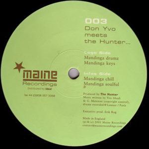 DON YVO meets THE HUNTER – Mandinga