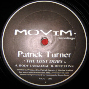 PATRICK TURNER - The Lost Dubs EP