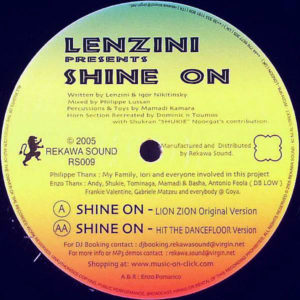 LENZINI – Shine On