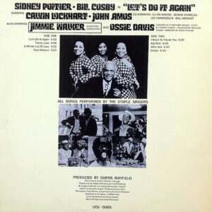 THE STAPLE SINGERS & CURTIS MAYFIELD – Let's Do It Again O.S.T.