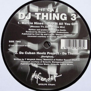 VARIOUS – It's A DJ Thing 3