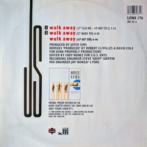 JOYCE SIMS – Walk Away Remix