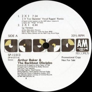 ARTHUR BAKER & THE BACKBEAT DISCIPLES – 2 x 1