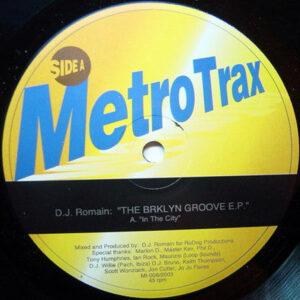 DJ ROMAIN - The Brklyn Groove EP