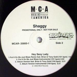 SHAGGY feat SEAN PAUL – Hey Sexy Lady