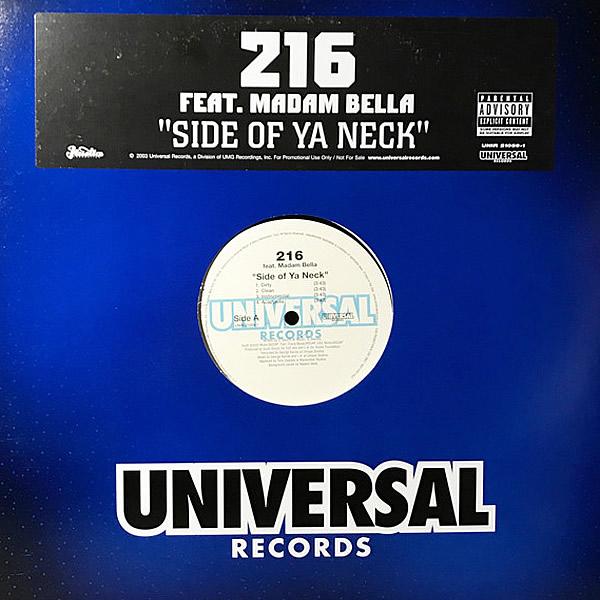 216 feat MADAM BELLA - Side Of Ya Neck