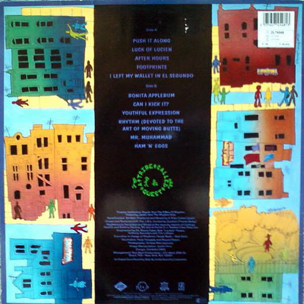 A TRIBE CALLED QUEST - Peoples Instictive Travels And The Paths Of Rhythm
