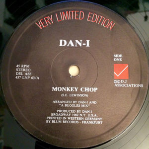 DAN-I / SWEET SMOKE - Monkey Chop/Silly Sally
