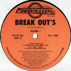 BREAK OUT'S – Volume 1