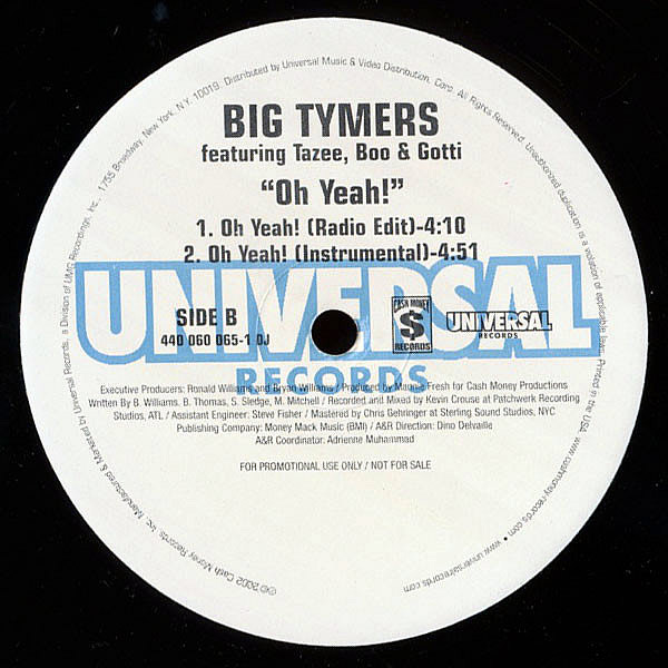 BIG TYMERS - Oh Yeah!