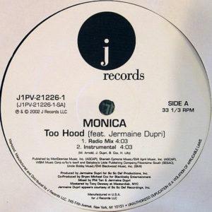 MONICA feat JERMAINE DUPRI – Too Hood