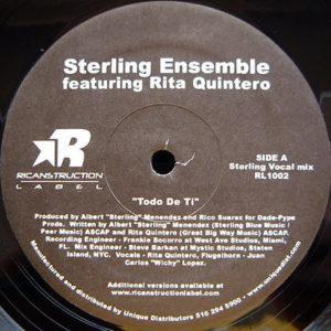 STERLING ENSEMBLE feat RITA QUINTERO – Todo De Ti