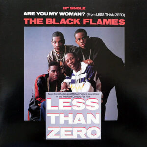 THE BLACK FLAMES / PUBLIC ENEMY - Are You My Woman?/Bring The Noise