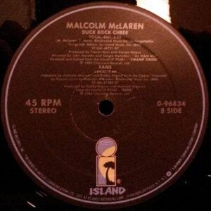 MALCOM McLAREN – Duck Rock Cheer