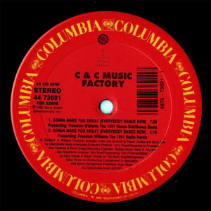 C & C MUSIC FACTORY – Gonna Make You Sweat ( Everybody Dance Now ) Remixes