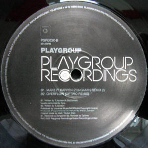 PLAYGROUP – Limited Edition 12″ Remix Album Sampler