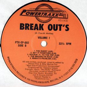 BREAK OUT'S – Volume 1