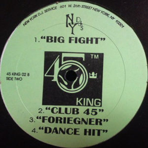 THE 45 KING – Untitled