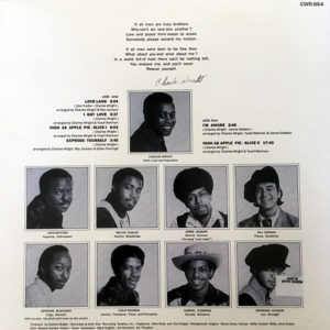 CHARLES WRIGHT & THE WATTS 103rd STREET RHYTHM BAND – Express Yourself