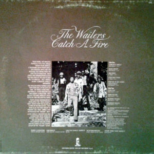 BOB MARLEY & THE WAILERS – Catch a Fire