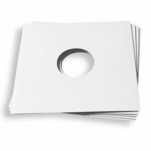 "10"" Cover Cardboard White"