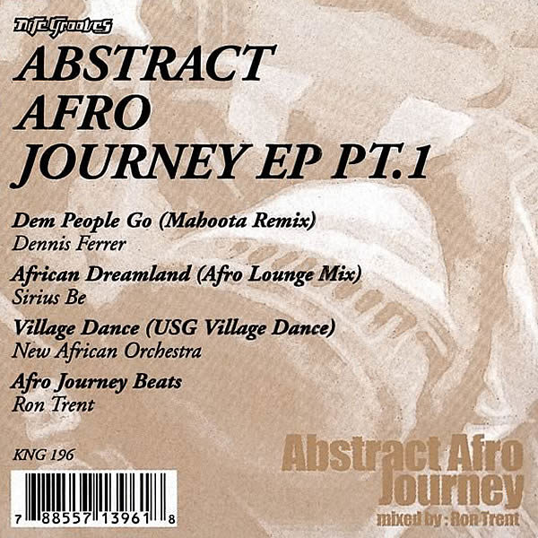 VARIOUS - Abstract Afro Journey EP Part 1