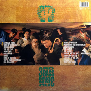 3RD BASS – The Cactus Al/bum