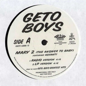 GETO BOYS feat ASHANTI - Mary 2 ( The Answer To Baby )