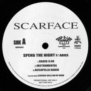 SCARFACE - Spend The Night/Only Your Mother