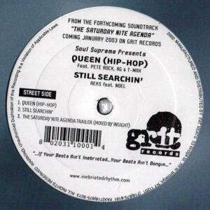 SOUL SUPREME presents – Queen/Still Searchin'