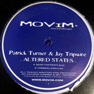PATRICK TURNER & JAY TRIPWIRE - Altered States EP