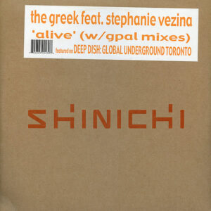 THE GREEK feat STEPHANIE VEZINA - Alive