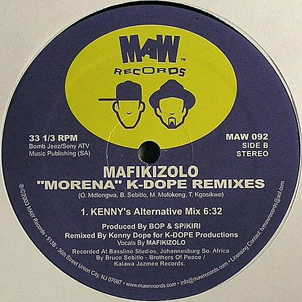 MAFIKIZOLO - Morena K-Dope Remixes