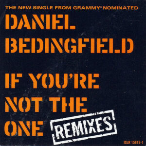 DANIEL BEDINGFIELD – If You're Not The One Remixes