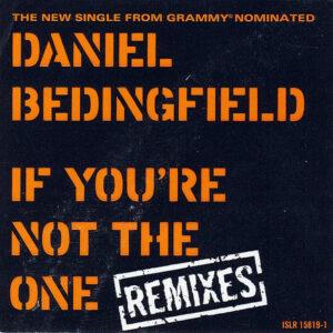DANIEL BEDINGFIELD – If You're Not The One Remixes