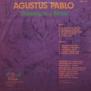 AUGUSTUS PABLO – Dubbing In A Africa