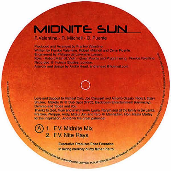FRANKIE VALENTINE - Midnite Sun Part 1