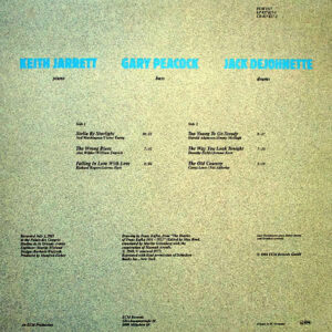 KEITH JARRETT TRIO – Standards Live