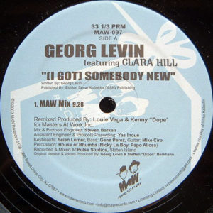 GEORG LEVIN feat CLARA HILL – I Got Somebody New