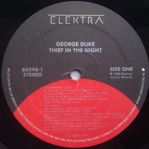 GEORGE DUKE – Thief In The Night