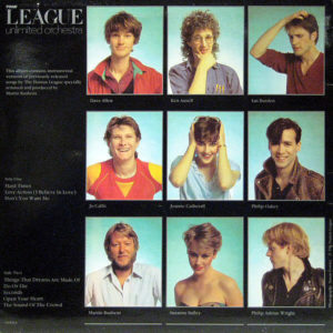 THE LEAGUE UNLIMITED ORCHESTRA – Love And Dancing