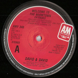 DAVID & DAVID – Welcome To The Boomtown