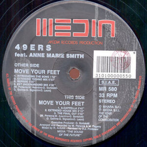 49ers feat ANNE MARIE SMITH – Move Your Feet