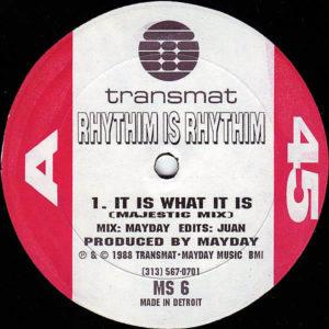 RHYTHIM IS RHYTHIM – It Is What It Is
